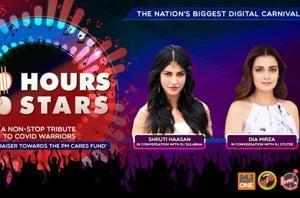 100 Hours 100 Stars: Shruti Haasan and Dia Mirza