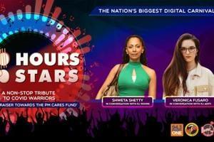 100 Hours 100 Stars: Shweta Shetty and Veronica Fusaro