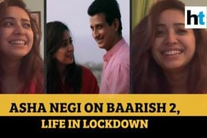 Actor Asha Negi opens up about her first onscreen kiss in Baarish 2