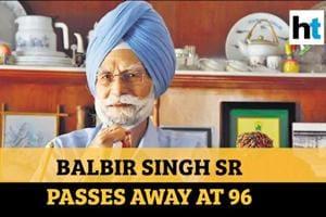 Indian hockey legend Balbir Singh Sr passes away; PM Modi, Akshay Kumar...