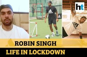 Yoga, fitness & family time: Robin Singh on life in lockdown