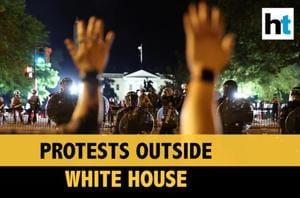 Clashes outside White House over George Floyd's death, Trump rushed to ...