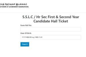 TN SSLC: Tamil Nadu class 10th admit card 2020 released today at dge.tn.gov.in