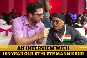 An interview with 103-year-old athlete Mann Kaur