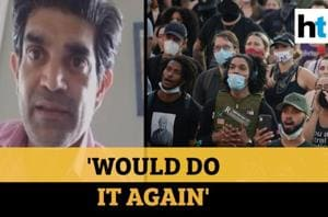 USA protests: Indian-American shelters 70 demonstrators in his house
