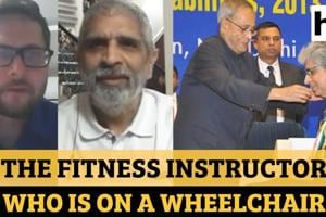 Meet the fitness instructor who is on a wheelchair