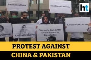 Watch: Baloch activists hold protest against China & Pakistan