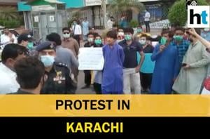 Watch: Massive protest in Karachi against enforced disappearances in Si...