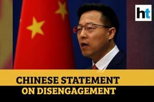 Watch: Chinese statement after pulling back troops from Galwan valley