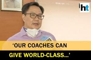 'Salary cap of Rs 2 lakh for Indian coaches removed': Kiren Rijiju