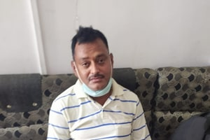 Gangster Vikas Dubey, wanted in killing of 8 UP cops, arrested