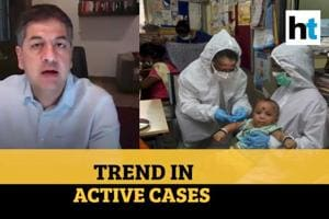 Vikra Chandra on active coronavirus cases and its trend in India