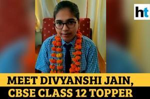 Lucknow girl Divyanshi Jain tops CBSE class 12 exam, scores 600/600 mar...