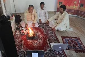 Live streaming now: Shravan puja takes a virtual detour during Covid-19