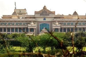 ITC Grand Bharat hotel becomes a playground for political parleys