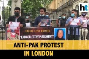 Watch: Anti-Pakistan protests in London against atrocities in Balochist...