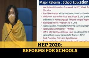 New Education Policy 2020: Easier board exams, regional language push in...