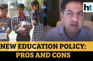 Vikram Chandra on pros and cons of New Education Policy 2020