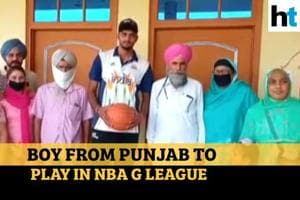 Princepal Singh becomes first NBA India Academy graduate to sign Pro co...