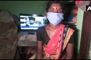 Covid-19: Karnataka woman pawns mangalsutra to buy TV for children's on-air classes