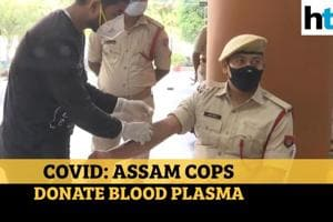 Over 40 Assam cops donate blood plasma after beating Covid-19