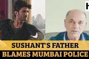 Watch Sushant's father's video message; says 'culprits are fleeing'