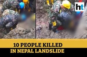 Watch: One Indian national among ten killed in landslides in Nepal