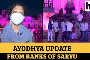 Ayodhya Ground Report: Another priest Covid positive; distancing a conc...