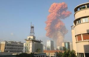Massive blast shakes Lebanon's capital Beirut, hundreds injured