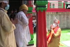 WATCH LIVE: PM Modi in Ayodhya for Ram temple bhoomi poojan