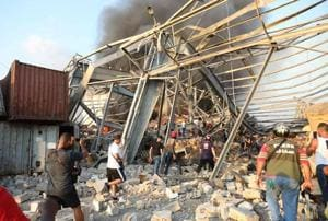 Massive blast rips through Beirut, killing 78 and injuring thousands