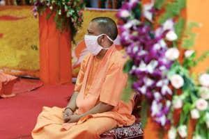 Beginning of new era based on ideals of Lord Ram: Yogi Adityanath on bhoomi pujan