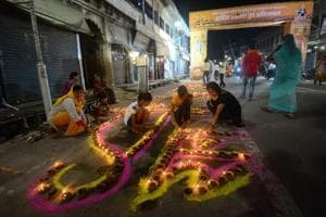Ayodhya basks in Diwali-like glow after temple ceremony