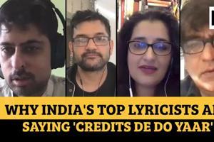 Varun Grover, Swanand Kirkire, Kausar Munir and Mayur Puri on demanding...