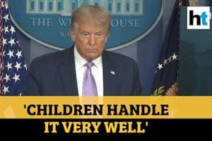 'Children handle covid very well': Trump defends video blocked by Twitter...