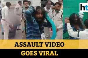 Watch: Two Madhya Pradesh cops drag Sikh by hair, suspended