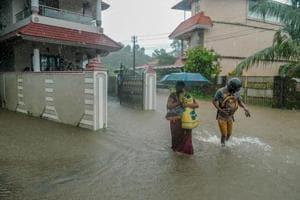 Flood, landslides batter parts of Karnataka