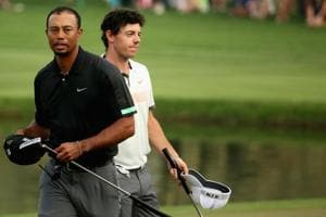Rory McIlroy says he does not mind a break from Tiger-mania