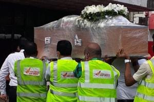 AI pilot Captain Deepak Sathe's mortal remains reach Mumbai