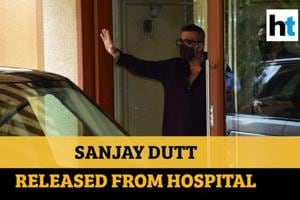 Watch: Sanjay Dutt discharged from hospital, returns home after 2 days