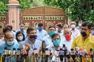 BJP underlines need to repair fissures in Rajasthan unit