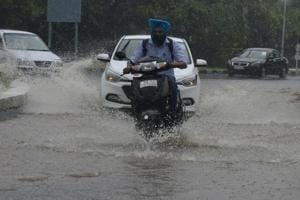 Chandigarh sees wettest day since 2009 with 133mm rain