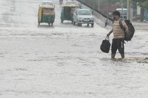 Heavy rains cause waterlogging in parts of Rajasthan