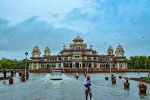 Heavy rain lashes parts of Rajasthan