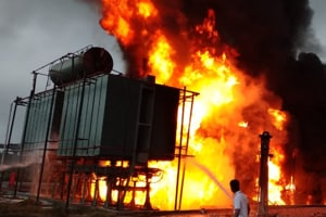 Major fire at power substation that provides electricity supply to Noida Metro