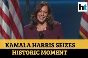 'Oh, how I wish my mother…': Kamala Harris accepts historic VP nominati...