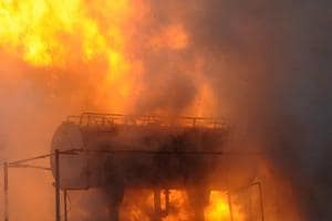 Huge fire at power substation in Noida's Sector 148, none hurt