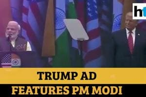 USA polls: PM Modi featured in Donald Trump ad to woo Indian-Americans