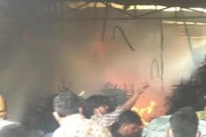 Fire at toy factory in Noida controlled, officials try to ascertain reason