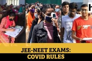 Explained | JEE, NEET exams amid Covid: What students must do; NTA rules